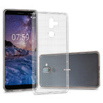 Flexi Shock Air Cushion Gel Case for Nokia 7 Plus - Clear